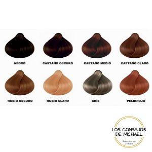 Colores fibras capilares KFP - Los Consejos de Michael