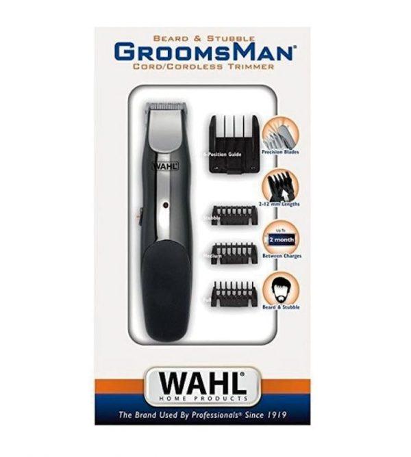 Máquina de afeitado Wahl Groomsman - Los Consejos de Michael