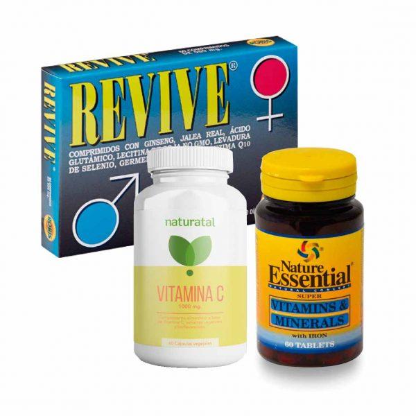 Pack vitaminas y energía - Los Consejos de Michael