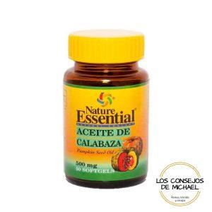 Aceite de calabaza Nature Essentials - Los Consejos de Michael