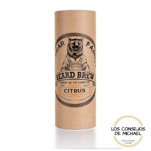 Aceite para barba Citrus Mr. Beard Company - Los Consejos de Michael