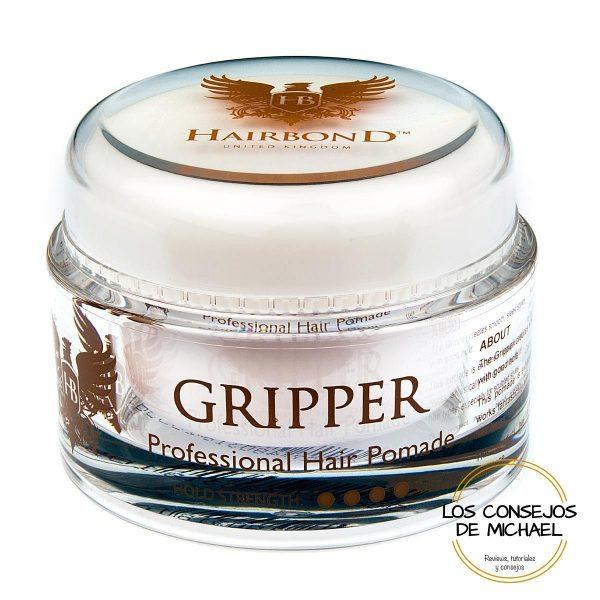 Pomada Gripper Hairbond - Los Consejos de Michael
