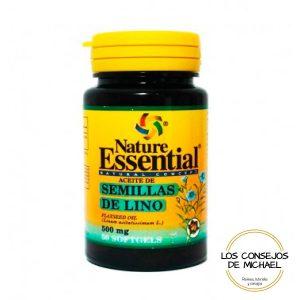 Aceite de semillas de lino Nature Essential - Los Consejos de Michael