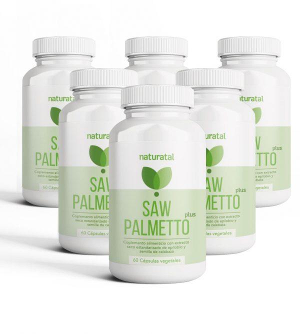 Saw Palmetto Plus Naturatal para 6 meses - Los Consejos de Michael