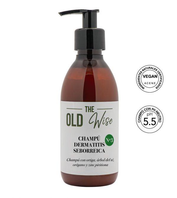Champú Nº3 dermatitis seborreica The Old Wise - Los Consejos de Michael